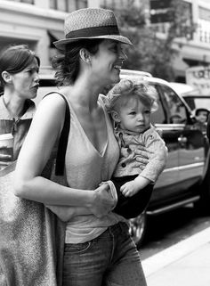 Marion Cotillard and darling little Marcel