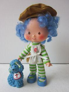 Vintage Strawberry Shortcake Crepe Suzette Doll by NostalgiaMama, $18.00