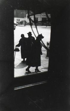 Saul Leiter - Three Ladies, late 1940's
