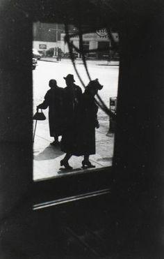 Saul Leiter - Three Ladies, late 1940's