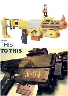 13 Best Moded nerf images   Nerf mod, Steampunk couture, Steampunk