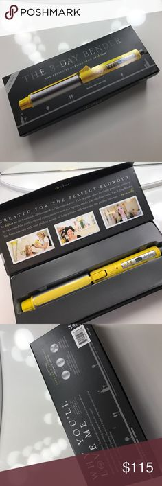 Drybar 3 Day Bender Curling Iron 1.25 inch 1.25 inch barrel Drybar curling iron with adjustable temperature. Used once but I never reach for it because I have so many other hot tools! Drybar Other