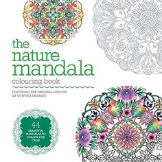 The Nature Mandala Colouring Book Books By Cy
