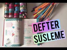 Defter Süsleme | 2 - YouTube