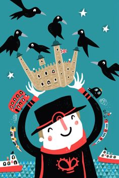 Happy Yeoman Warder and Tower ravens! >>> nathan reed