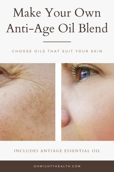 Here I'm showing you how to make the PERFECT anti-aging facial oil blend according to YOUR particular skin type. Anti Aging Facial, Facial Oil, Anti Aging Skin Care, Natural Skin Care, Natural Beauty, Best Oil For Skin, Oils For Skin, Diy Beauty, Beauty Skin