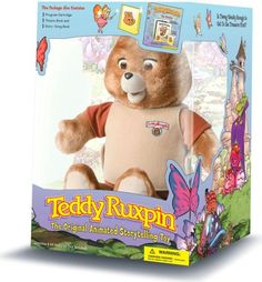 Who remembers that talking bear Teddy Ruxpin?  You played the cassettes in his back. lol