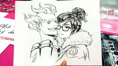 Mei x Junkrat I love this couple so much!!
