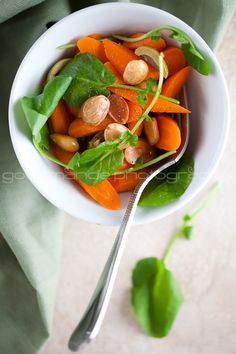 Carrot and Watercress Salad with Orange Blossom Water