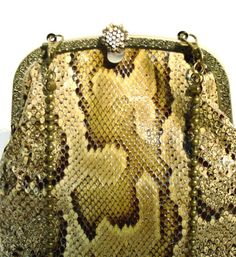 Mia Mia snake skin handbag