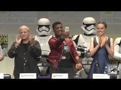 STAR WARS: The Force Awakens at 2015 San Diego Comic Con - YouTube