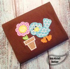 Bird flower - Beau Mitchell Boutique