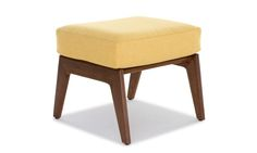 An ideal complement to our apartment sized chairs, the Soto apartment ottoman is small in size, but big on style.