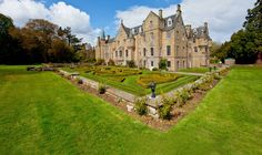 Carberry Tower – exclusive accommodation, weddings and corporate venue in Scotland, near Edinburgh www.wisetiger.co.uk