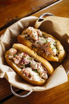 Lobster rolls from Albright / Effortless Chic