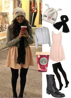 """Bethany Mota aka Macarbie07 Outfit"" by tianapappas ❤ liked on Polyvore  Bethany Mota is my fav beauty guru on YouTube :)"