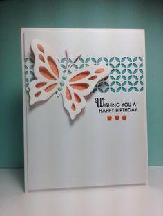 Life is Beautiful, PTI, Piestra tile die, MB, by beesmom - Cards and Paper Crafts at Splitcoaststampers