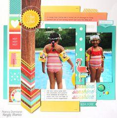Fun+in+the+Sun+by+Nancy+Damiano - Scrapbook.com