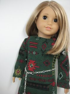 18 inch Doll Clothes American Girl Tribal Print by nayasdesigns, $26.50