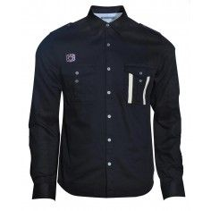 Bolongaro Trevor black Talbot Shirt. Wear it with a pair of light wash denim jeans