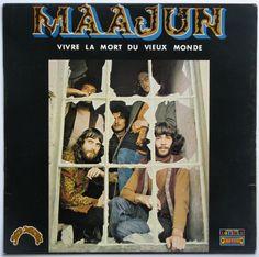 Maajun - Vivre La Mort Du Vieux Monde (1971) Culture, Baseball Cards, Albums, Books, French, Times, Image, Old World Maps, Death
