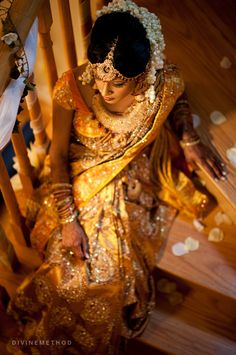 desi fashion. South Indian bride  #indianwedding, #southasianwedding, #shaadibazaar