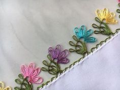 hallo-freunde-herzlich-willkommen-auf-meinem-kanal-tulay-und-geniale-welt/ delivers online tools that help you to stay in control of your personal information and protect your online privacy. Hand Embroidery Patterns, Baby Knitting Patterns, Embroidery Stitches, Needle Tatting, Needle Lace, Crochet Flowers, Crochet Lace, Crochet Unique, Chain Stitch
