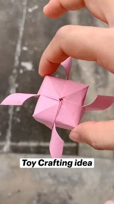 Diy Crafts Hacks, Diy Crafts For Gifts, Diy Crafts Videos, Easy Crafts, Paper Crafts Origami, Paper Crafts For Kids, Diy Paper, Paper Oragami, Origami Gifts