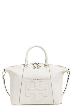 Swooning over this Tory Burch satchel that is perfect for carrying the essentials.