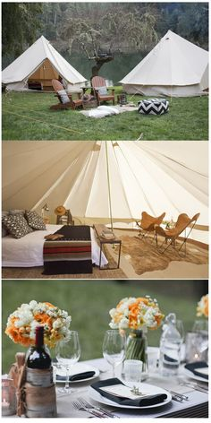 double glamping...........how fun