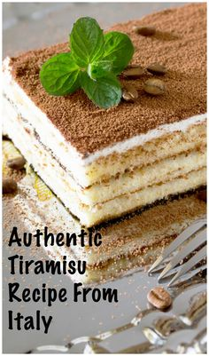 Best Recipe of Tiramisu from our time living in Italy! Desserts Authentic Tiramisu Recipe from ItalyThe Best Recipe of Tiramisu from our time living in Italy! Desserts Authentic Tiramisu Recipe from Italy Just Desserts, Delicious Desserts, Yummy Food, Gourmet Desserts, Plated Desserts, Authentic Tiramisu Recipe, Easy Tiramisu Recipe, Tiramisu Recipe Without Ladyfingers, Matcha Tiramisu Recipe