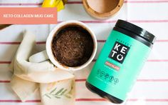 Perfect Keto Collagen Mug Cake