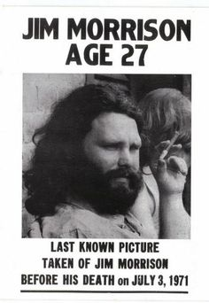 Jim Morrison/ Doors /classic rock - seriously. the guy was a dumbass