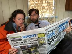 Chris Chibnall On Broadchurch 2: We Would Not Have Done It Without David Tennant & Olivia Colman