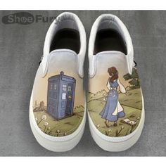 Adventure Awaits | TeeFury -- I freaking adore these shoes. They will be mine. Oh, yes, they will be mine.