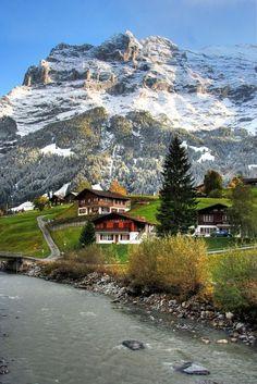 Swiss Village - Jungfrau region, Berner Oberland: