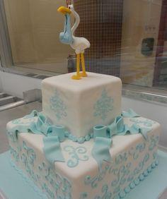Baby boy cakes!