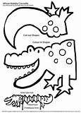Wobbly Puppet –Crocodile