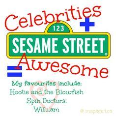 One of the many reasons that I love Sesame Street - mapsgirl.ca