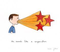 Marc Johns: he sounds like a superstar