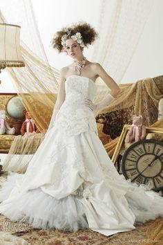 stella de libero white wedding dress 2011
