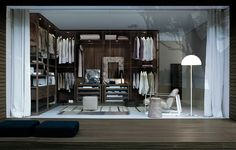 Madeleine Elliott concept studio Stockholm New York Los Angeles Walk-in-closet