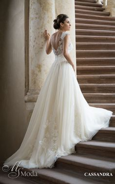 CASSANDRA - MS Moda - Evita Lace Wedding, Wedding Dresses, Loki, Ms, Fashion, Wedding, Bride Dresses, Moda, Bridal Gowns