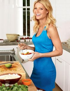 Gwyneth Paltrow. I want to look like her at 40.