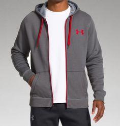under armour rival zip hoodie