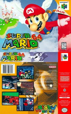 Super Mario 64 #Nintendo