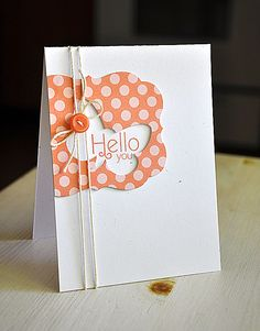 Stamper's First-Aid - Hello Butterfly Card by Maile Belles for Papertrey Ink (July 2012)