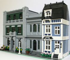 My Street by Kristel from Eurobricks.  What a nice block.  I love the details on the buildings.