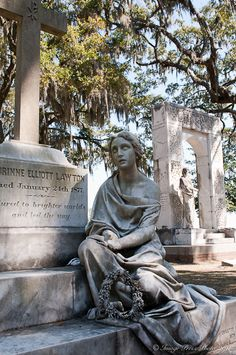 This cemetery is built on what was once Bonaventure Plantation and dates back to 1846.