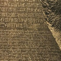 Couldn't resist a look at the Rosetta Stone in between talks at today's conference. It's truly amazing as is the rest of the museum #TheMissingLink #MindBlown